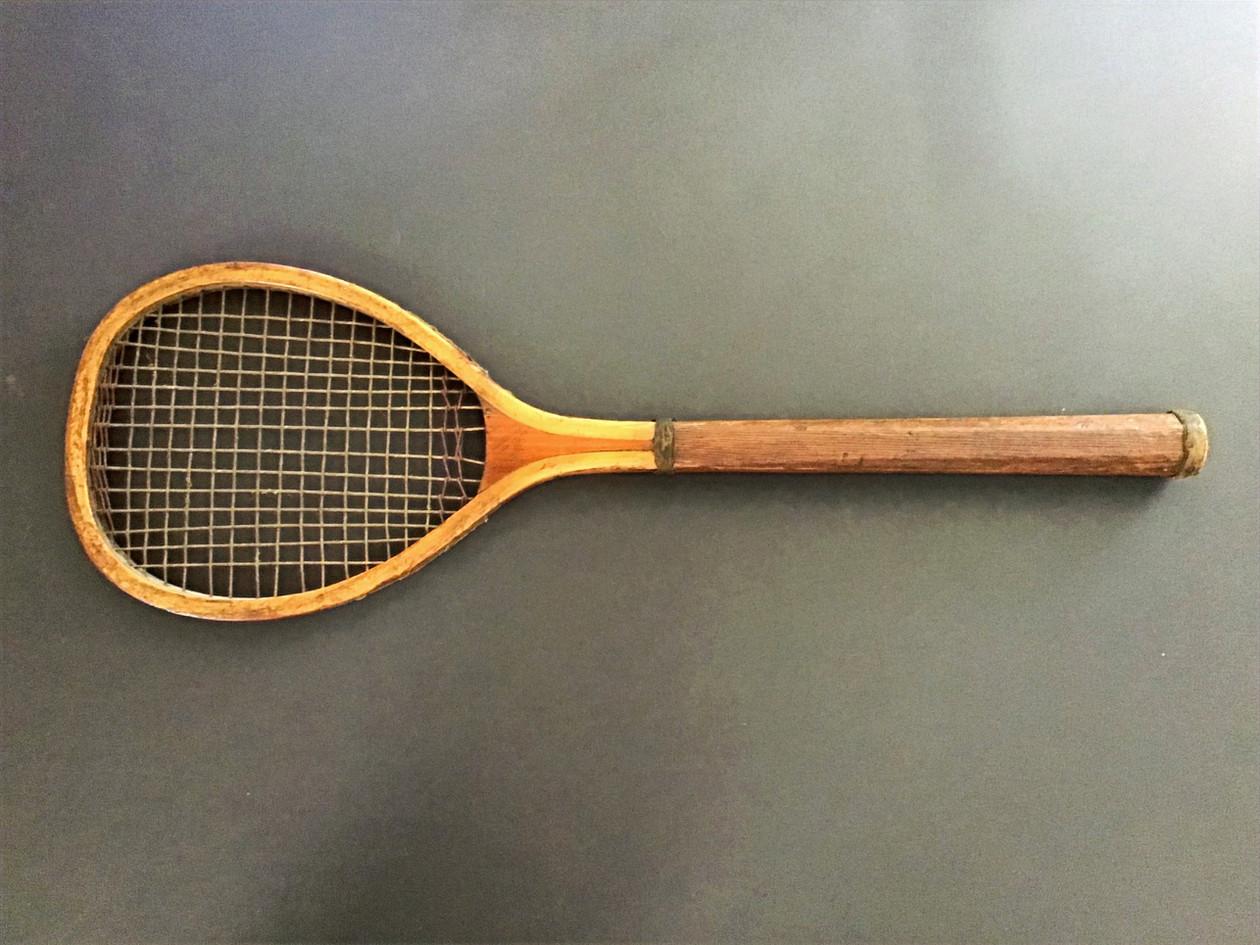 Rare Boxed Set Racquet - 1879