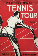 Professional Tour Program - 1935