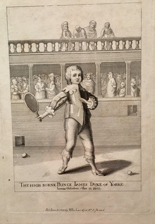 Prince James at Tennis - 1800