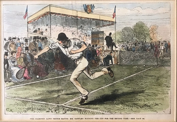 The 4th Wimbledon Final - 1880