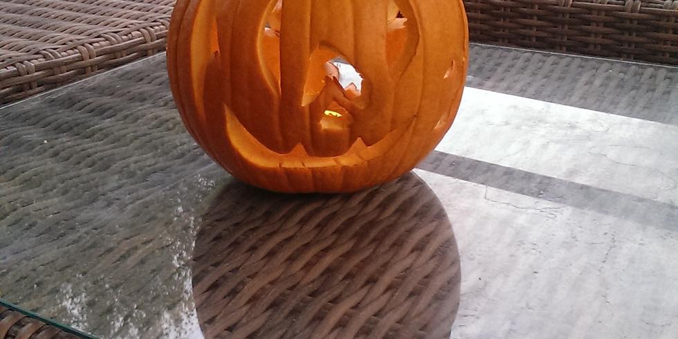 Halloweenkürbis schnitzen für Kids