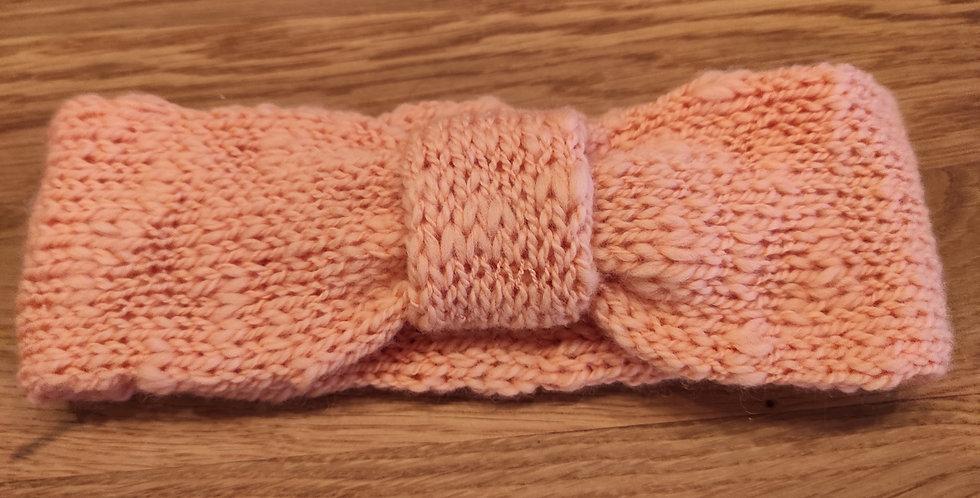 Stirnband für Erwachsene apricot