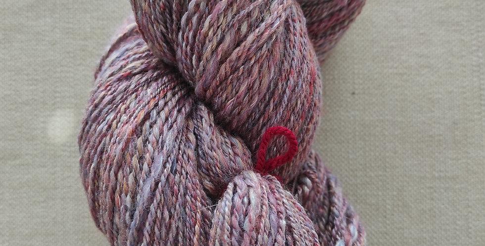 Alpaka/ Merino / Seide violett