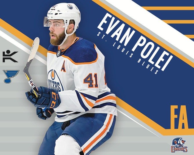 2019 Stanley Cup Champions Sign Evan Polei to NHL Contract