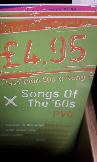 Songs of The  60s - PVG