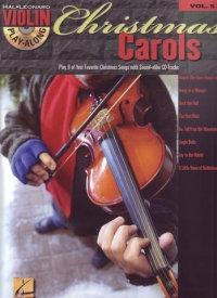 Violin Play Along Christmas Carols