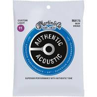 Martin Guitar Strings - Custom Light  80/20  Bronze MA175