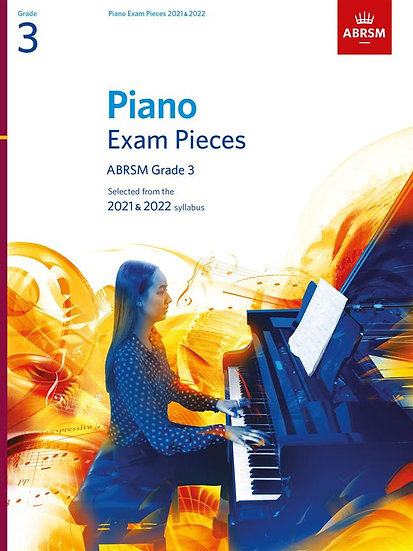 ABRSM Piano Exam Pieces Grade 3 - 2021 - 2022