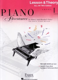 Piano Adventures Level 1 Lesson and Theory All in 2 Edition