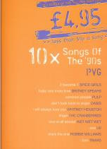 Songs of the 90s PVG