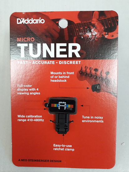 Daddario Micro Headstock Tuner