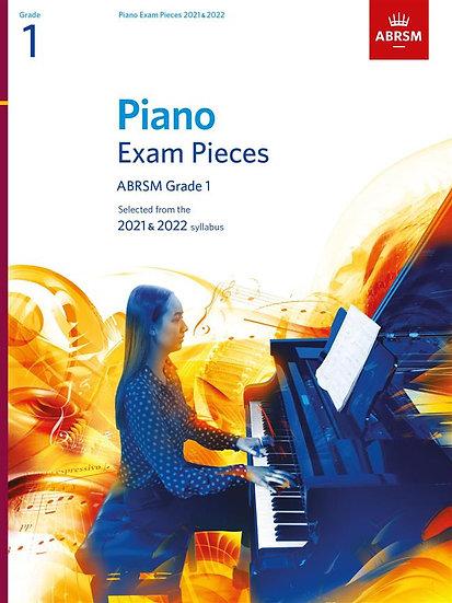 ABRSM Piano Exam Pieces Grade 1 - 2021 - 2022