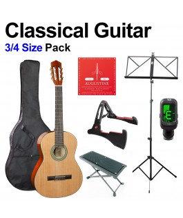 3/4 Classical Guitar Pack