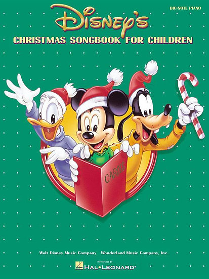 Disney Christmas Songbook For Children Big Note Piano