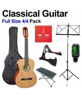 Full Size Classical Guitar Pack