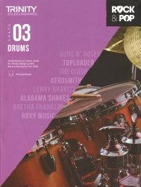 Trinity Rock and Pop Drums Grade 3
