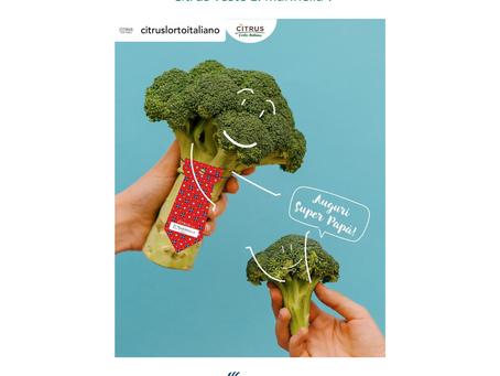 Il broccolo indossa la cravatta… per una giusta causa!