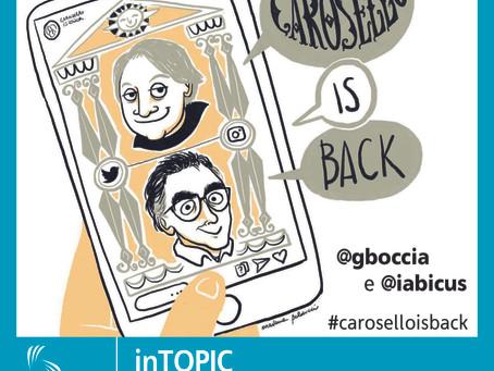 Ritorna Carosello... sui Social