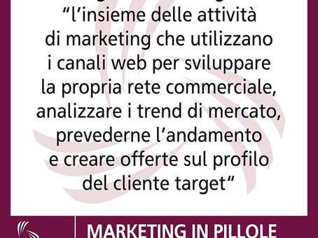 Ecco il Digital Marketing... in pillole!
