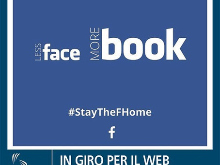 #STAYTHEFHOME che #LESSISMORE