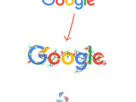 HELLO DECEMBER con il nuovo doodle di Google.
