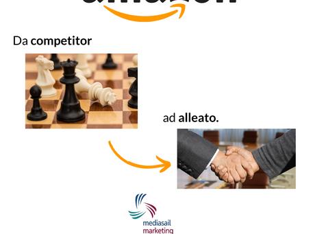 Amazon: da competitor ad alleato. VENDERE dal Latino Venum Dare = Dare Valore