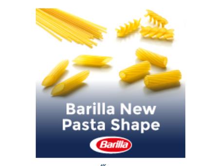 BARILLA NEW PASTA SHAPE CONTEST