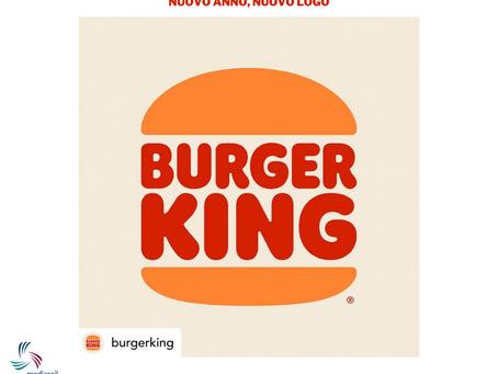 Burger King cambia il logo: E' tornato il panino!!