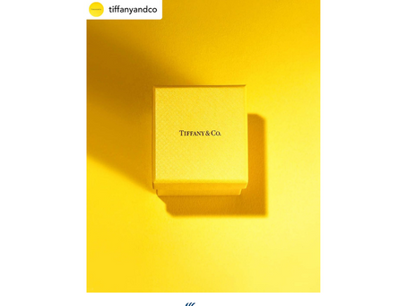Yellow is the new Blue Tiffany