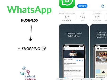 Tra poco Shopping... Su WhatsApp!
