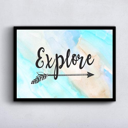 Explore - Watercolor version