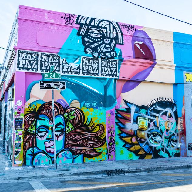 Wynwood Walls, Miami, USA