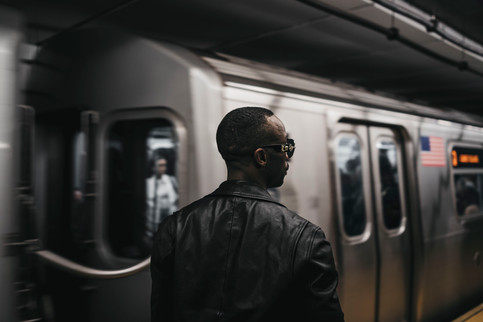 72 Street Subway Station, Q Train, New York City, October 23, 2019.