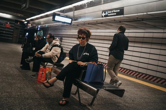 72 Street Subway Station, New York City, October 12, 2019.