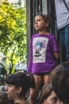International Women's Day, Buenos Aires, Argentina, March 8, 2018.