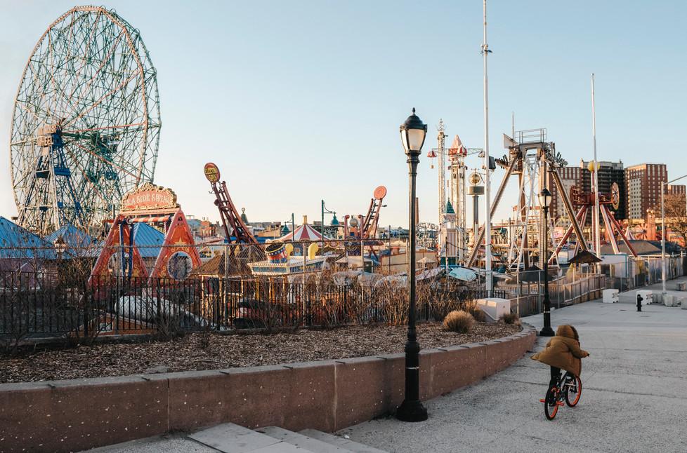 Coney Island, Brooklyn, New York, March 2020.