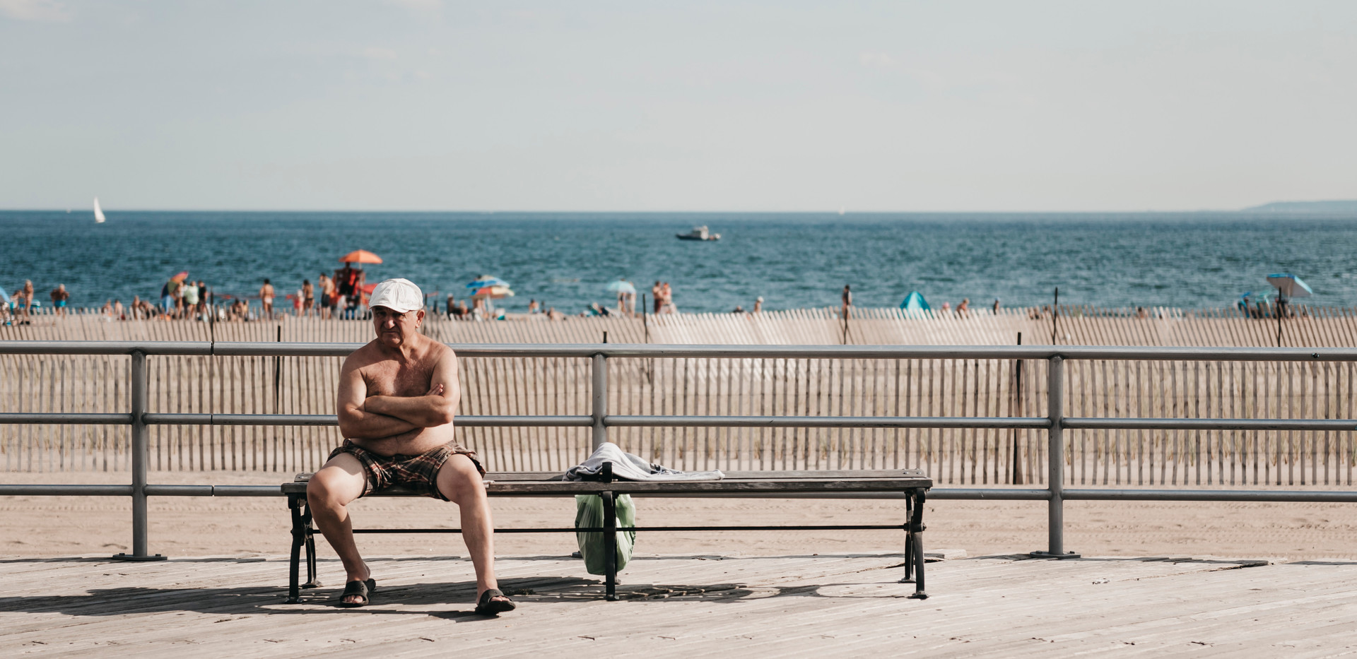 Coney Island, New York, August 2019.