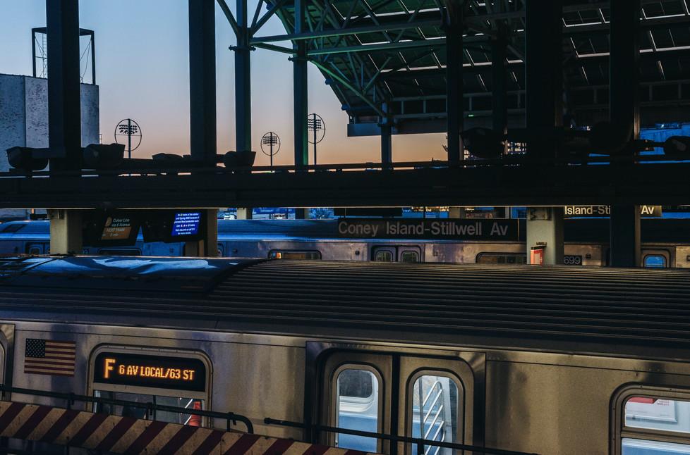 Coney Island, Brooklyn, New York, February 2020.