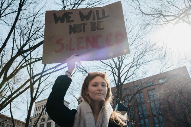 International Women's Day, New York City, March 8, 2020.