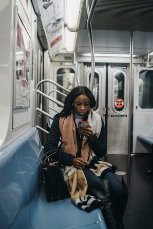 7 Subway line, New York City, October 28, 2019.