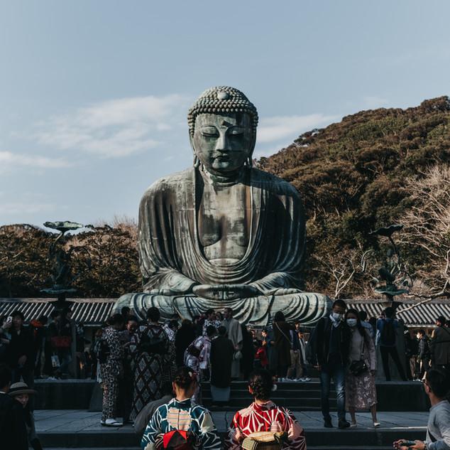 The Great Budha of Kamakura, Kamakura, Japan