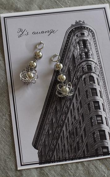Silverball Earrings