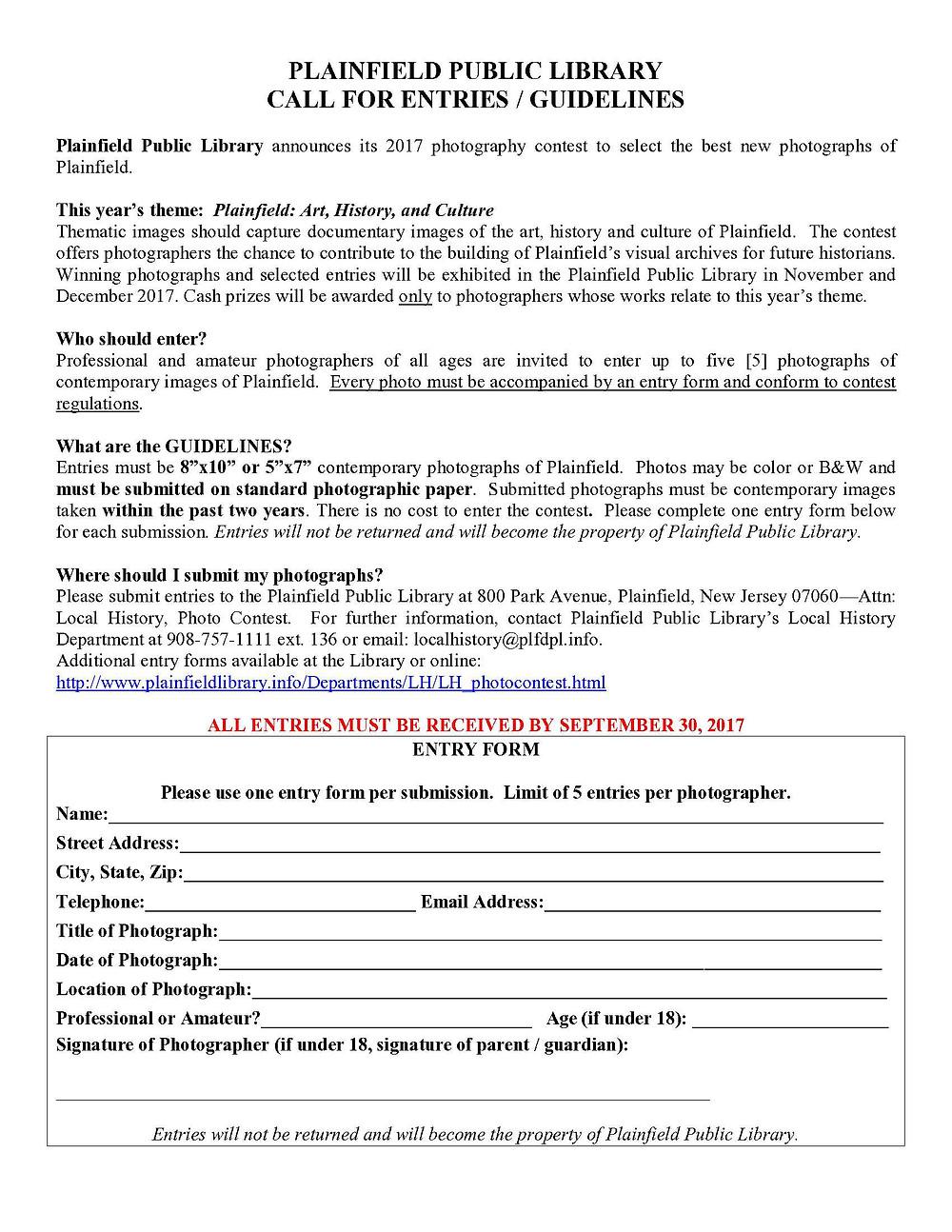 Deadline September 30 2017