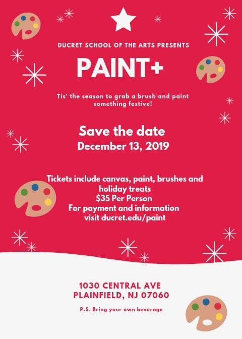 Paint + at duCret, Plan your evening out