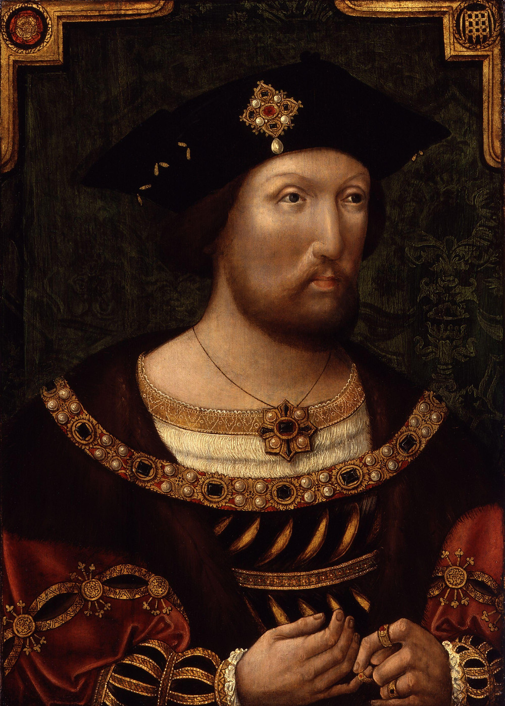 King Henry VIII, about 1520