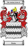 Arms of de Parles