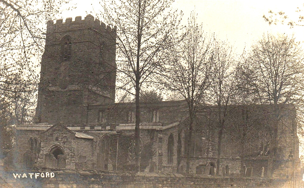 Watford church (from collection of Dan White)