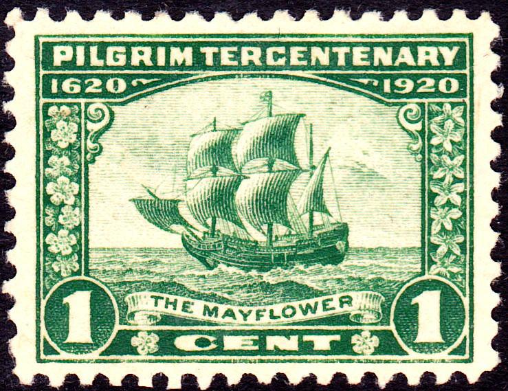 The MAYFOWER, Pilgrim Tercentenary, 1620-1920