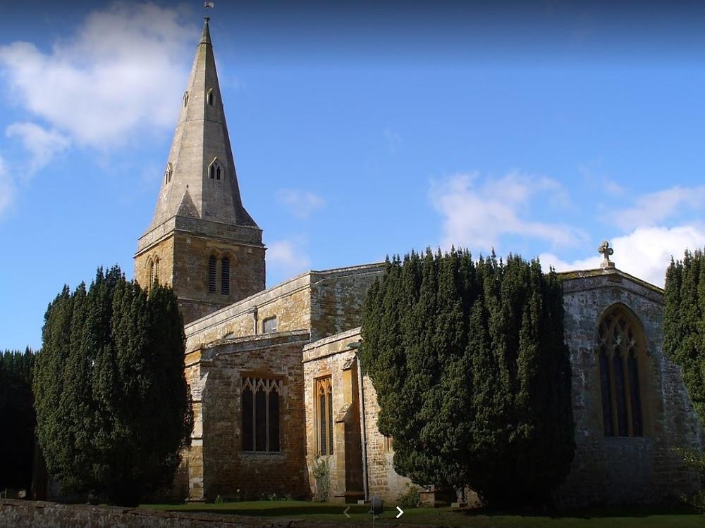 Guilsborough church, Northamptonshire