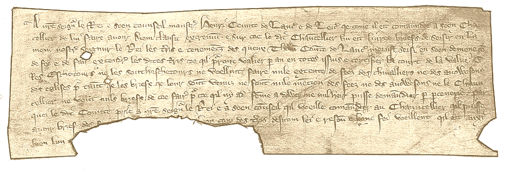 Writ requesting override of escheators for an inheritance